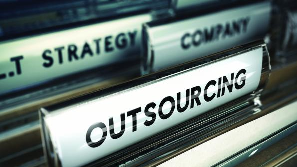 Deciding when to outsource energy services