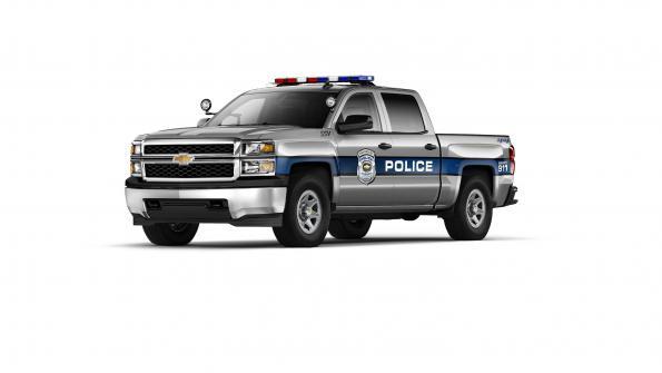 For police fleets: Chevrolet Special Service Silverado