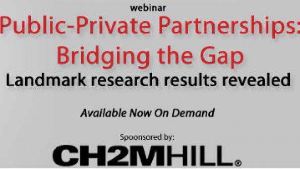 Public-private partnerships: Bridging the gap