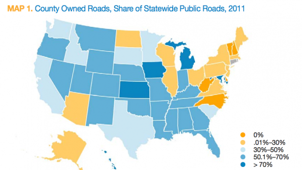 Counties' share in transportation burden growing