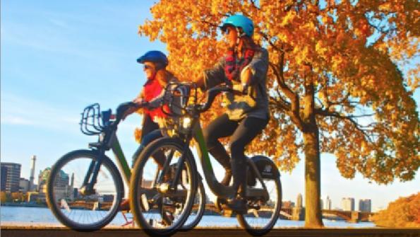 Bike-shares as public transit?