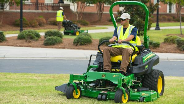 Leasing offers opportunities for managers of government mowing fleets
