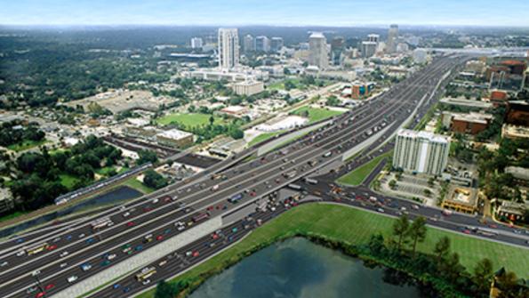 Public-private partnership to rebuild I-4 near Orlando