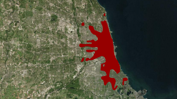 Interactive tool maps urban expansion through history