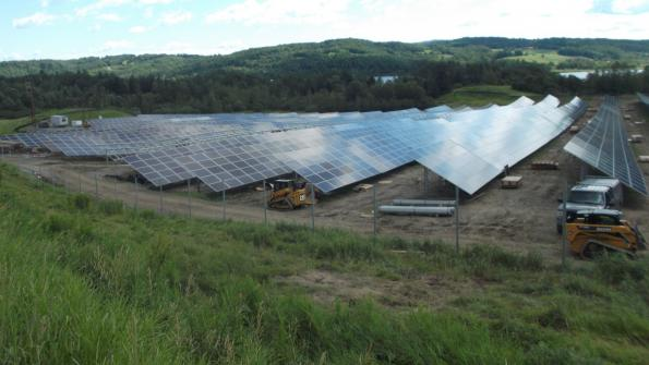 One's landfill waste is a solar developer's treasure