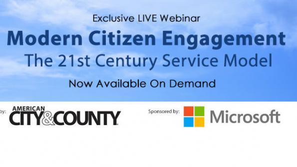 Modern citizen engagement: The 21st century service model