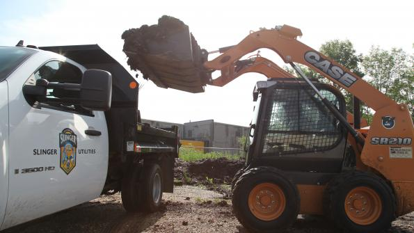 Wisconsin village looks for power and versatility as it deploys a new skid steer (with related video)