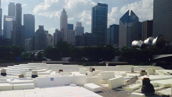 Geofoam serves as soil substitute in Windy City park project (with related video)