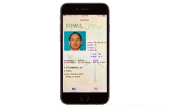 Smart phone drivers licenses coming to Iowa
