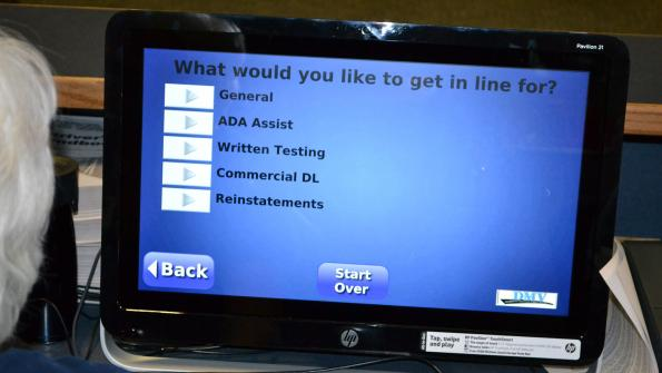 Wait management system improves customer satisfaction at Nevada DMV