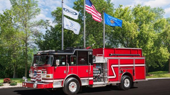 Georgia fire department acquires powerful pumpers (with related video)