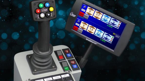 Electronic spreader control delivers salt savings