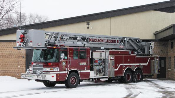 Wisconsin cities upgrading their fire fleets with Pierce equipment (with related video)