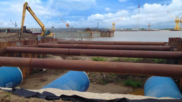 Steel pipe is playing a role in Big Easy flood control (with related video)