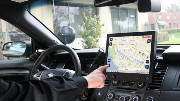 Mobile computers help city meet 911 demands