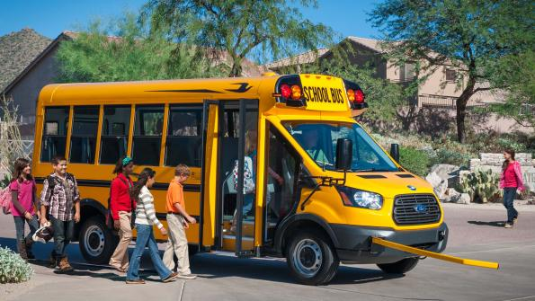 School bus now available on Ford Transit platform (with related video)