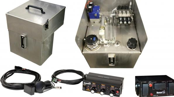 Hydraulic system offers precise spreader control