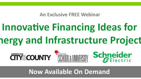 Innovative financing ideas for energy and infrastructure projects
