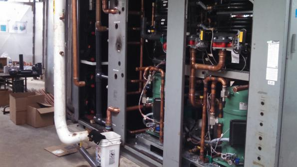 High school swimming pool gets cost-saving HVAC dehumidifier retrofit
