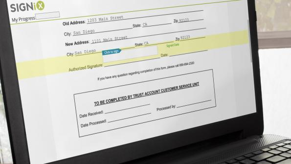 Cost-saving E-signature program in San Diego County (with related video)