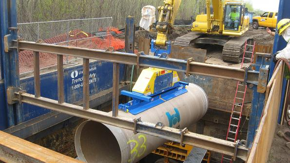 Versatile pipe to be displayed at construction conference (with related video)