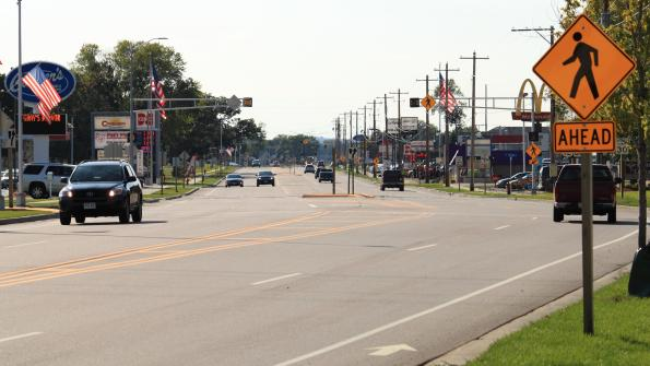 Scenic Wisconsin village gets a traffic makeover