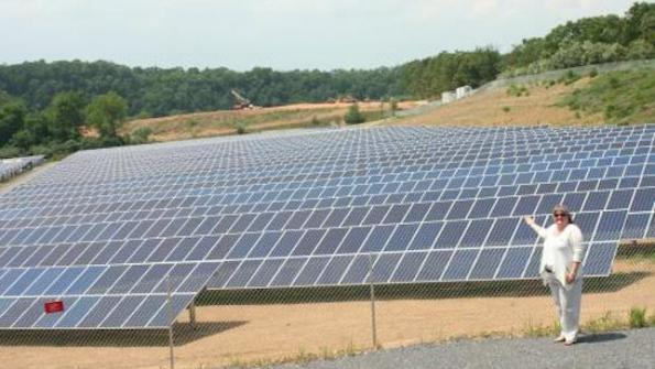 Maryland county transforms landfill into solar farm
