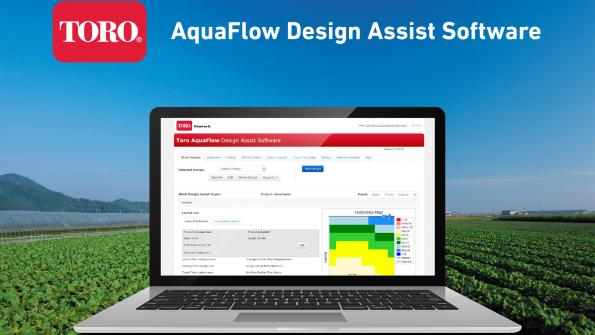 Software upgrade available for irrigation system