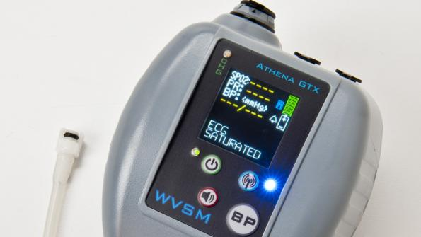 Vital monitor assesses patient conditions on the go