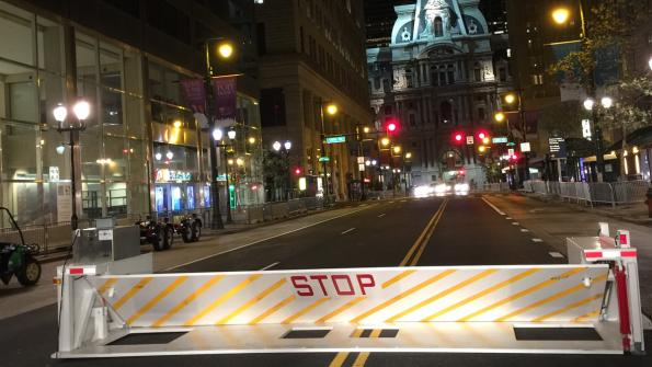 Portable crash barriers shield Pope Francis on his recent visit (with related video)