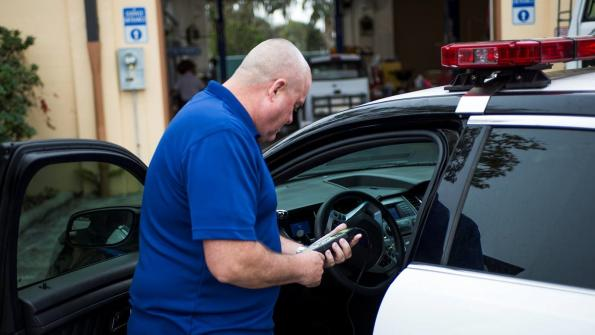 Fleet optimizer cuts idling fuel costs for Florida police
