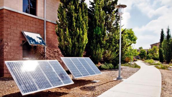 Marine facility gets energy-saving solar lighting (with related video)