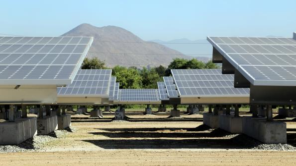 Solar farm at California landfill surpasses power targets