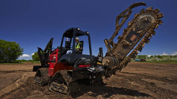 More options available for riding trencher lineup (with related video)