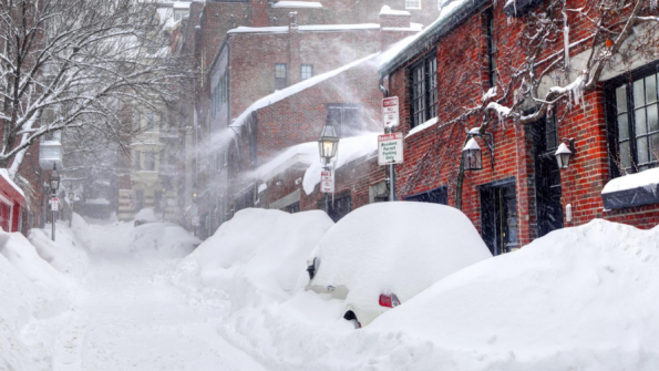Boston tracks snowplows with GIS-based SnowCOP to keep roads clear