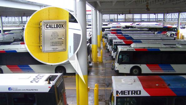Texas transit agency uses wireless callboxes to ensure on-time performance