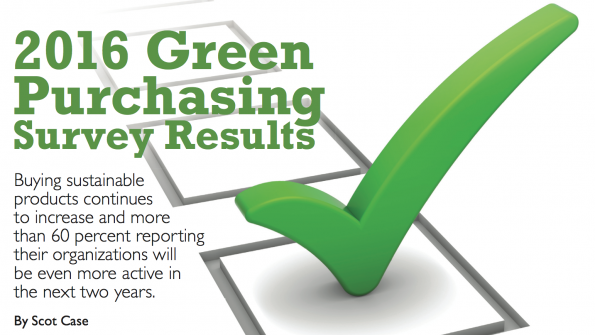 2016 green purchasing survey results
