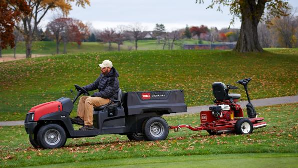 Grounds and turf crossover vehicle line offers versatility (with related video)