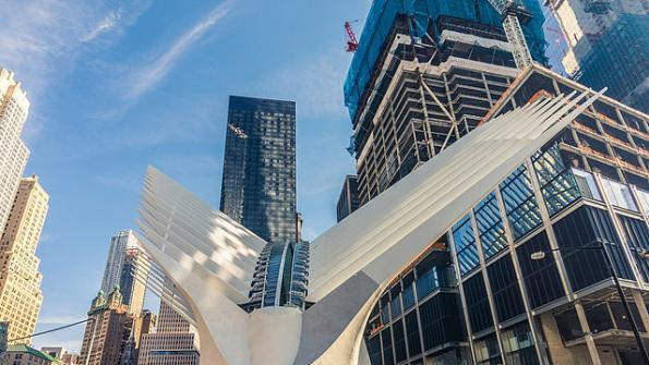 World Trade Center transit station opens to little excitement, lots of criticism