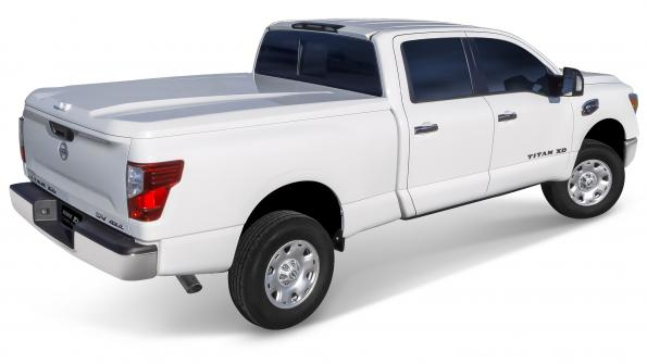 Bed covers now available for 2016 Nissan Titan XD pickups