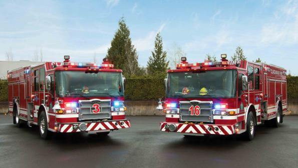 Oregon district places big order for fire equipment (with related video)