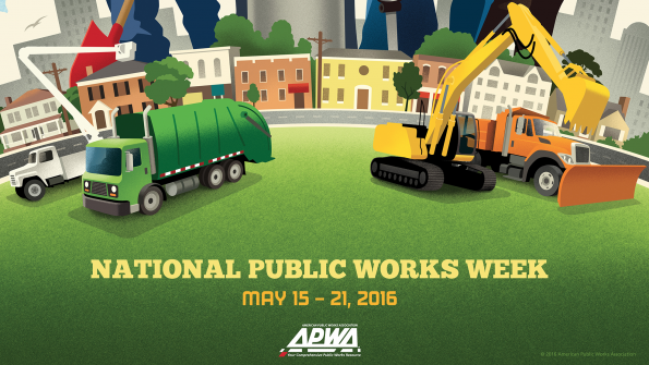 Municipalities celebrate National Public Works Week