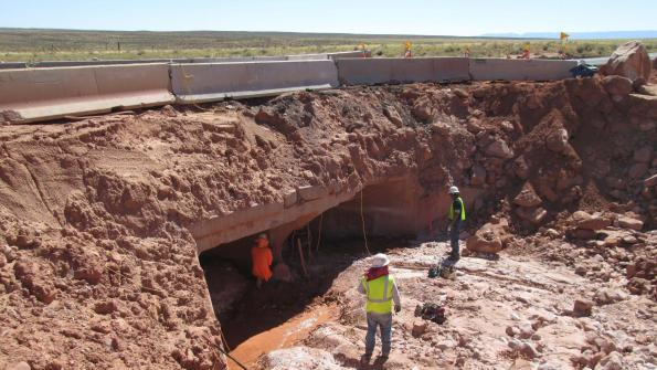 Job Order Contracting process speeds emergency highway repairs in Arizona