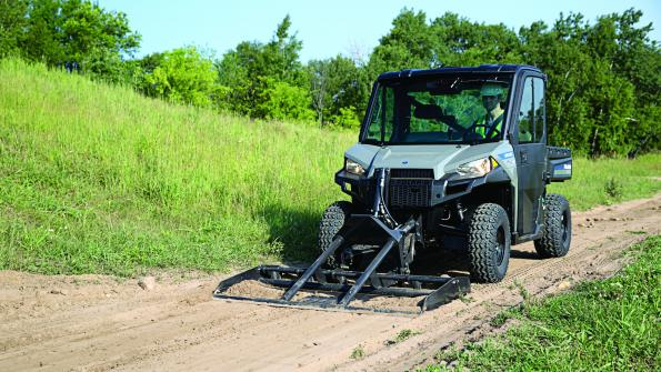 Versatile utility vehicle simplifies soil preparation (with related video)