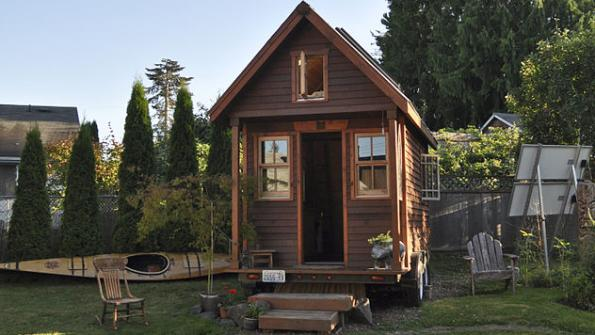 Tiny house community houses local homeless population