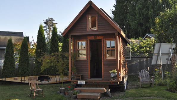 Tiny house community houses local homeless population