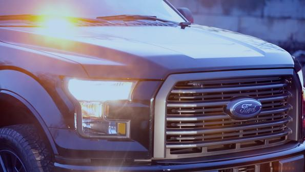 Strobe lights are now available to F-150 fleet customers