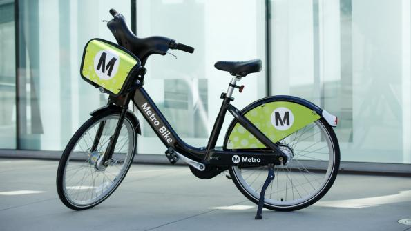 Los Angeles inaugurates Metro Bike Share