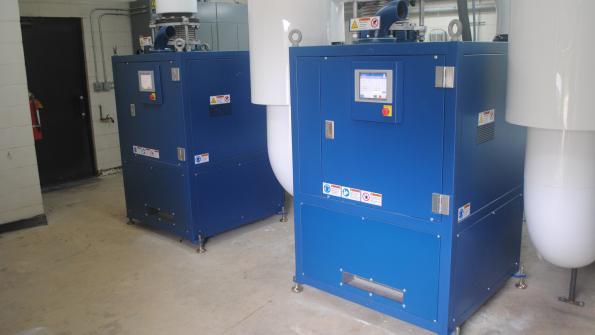 Turbo blowers boost efficiency at Iowa treatment plant