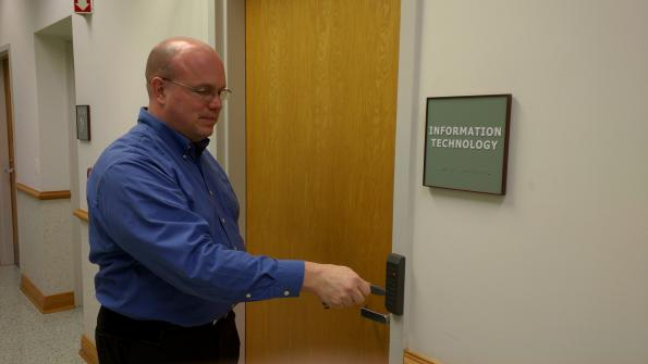Access control system streamlines building access in Illinois village
